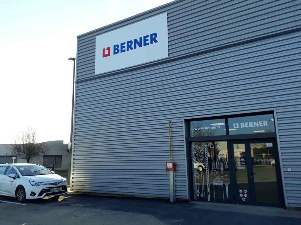 premier point de vente Berner à Lyon