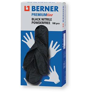 Gants jetables nitrile noir