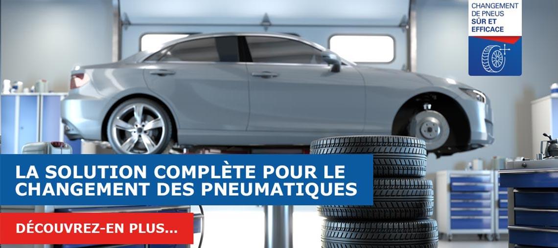 Solution complète Berner pour le changement des pneus